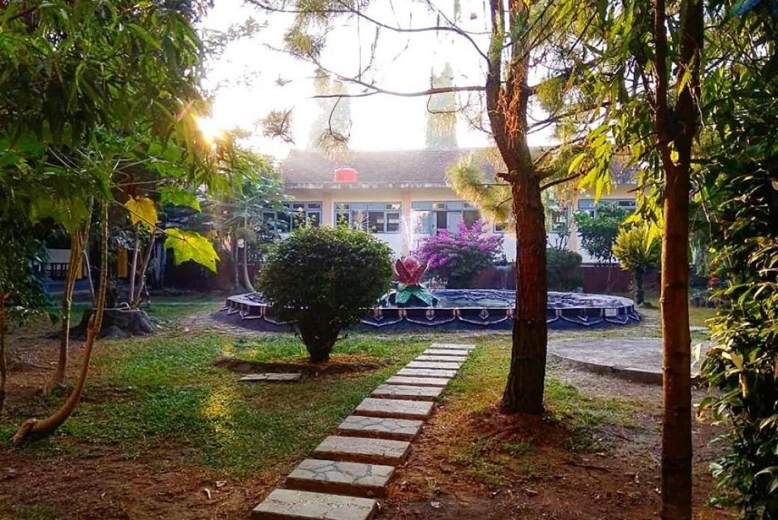 Taman di SMA 2 Magelang